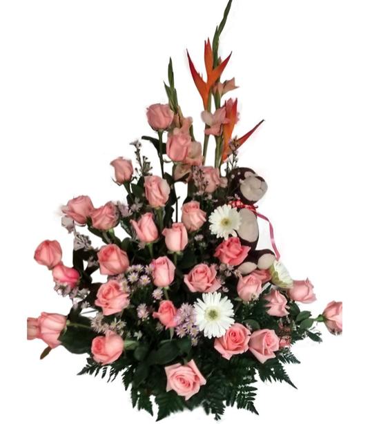 Los Hermosos Arreglos Florales Compartir Artículos